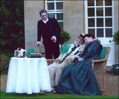 Tim Armstrong-Taylor, Kate Semmens and Andrea Brown in Stradella's Il Trespolo Tutore New Chamber Opera 2004